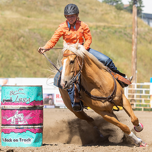 BCLBRA Barrel Racing