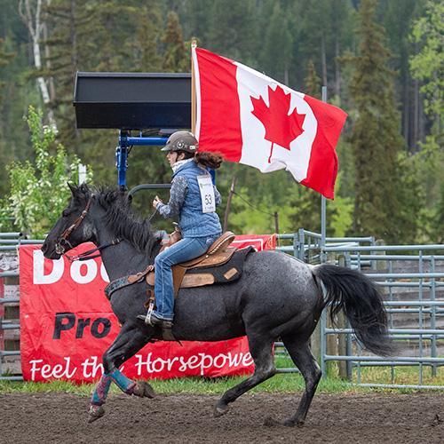 Canada Flag Entry
